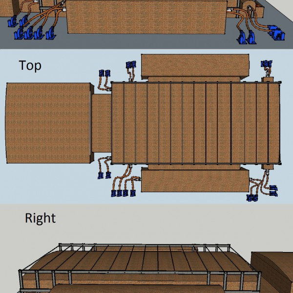 2015, USA, Float Glass Furnace Hold Hot For Regen Repair