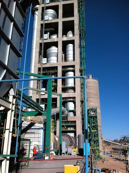 2011, Peru, Cement Plant, 14 Burners, Diesel Oil
