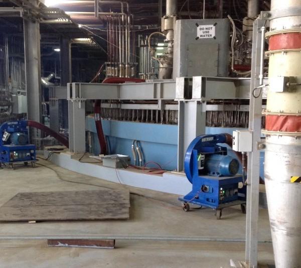 2015, Saudi Arabia, Submerged Arc Furnace For Titanium, Diesel Oil