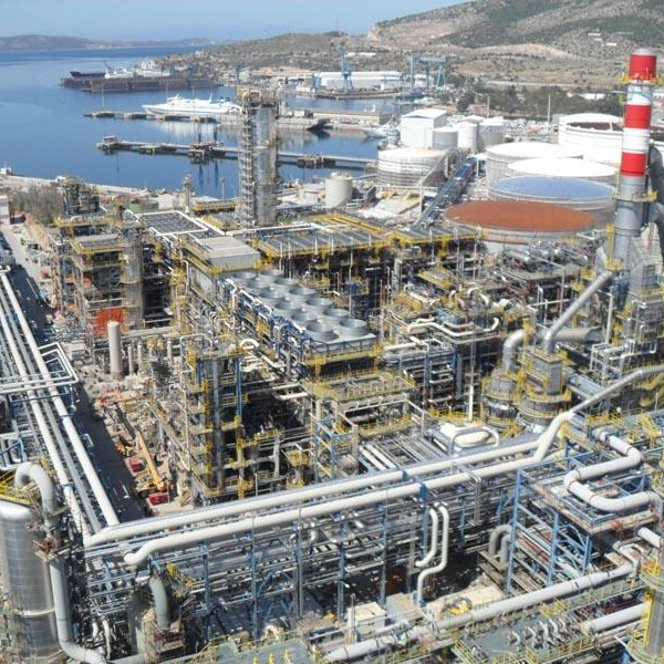 2012, Greece, Flexicoker, 29 Burners, Refinery Gas