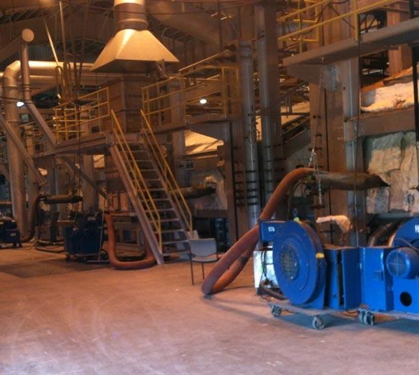 2012, USA, Float Glass Furnace, 18 Burners, Natural Gas