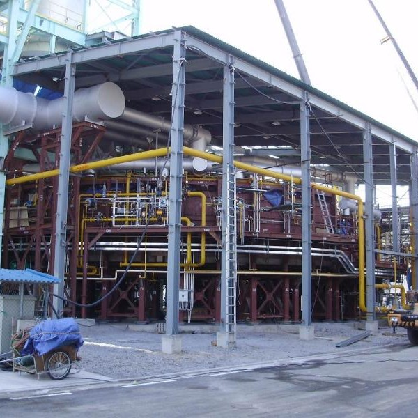 2012, South Korea, Rotary Hearth Zinc Recovery Process, 22 Burners, Natural Gas
