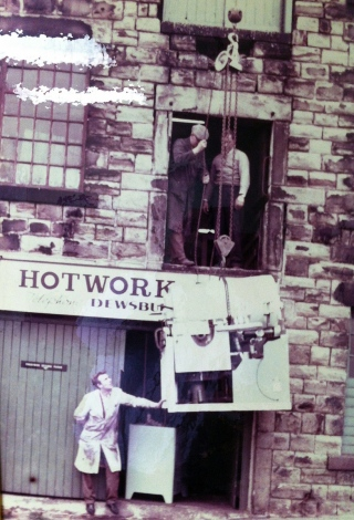 The original Hotwork company in Dewsbury, West Yorkshire, UK.